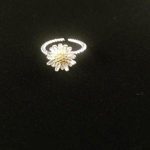 Yellow Daisy Ring